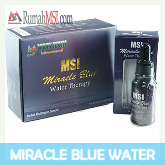 miracle blue water front display