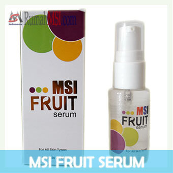 msi fruit serum front display